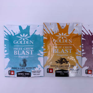 Golden Fruit Chew Blast – Singles