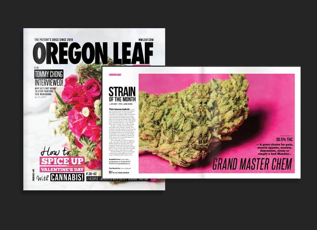 Strain of the Month – Oregon Leaf