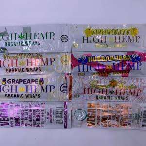 Blunt Wraps – High Hemp Wraps