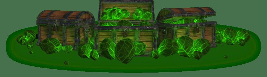 Shellinium chests