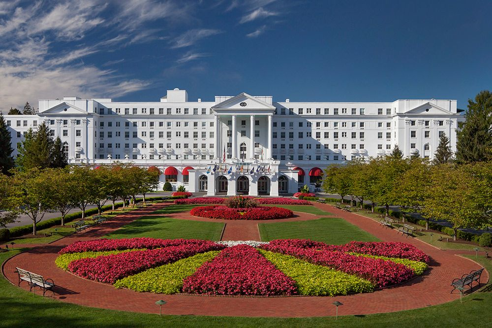 Panoramic View of the Greenbrier Resort