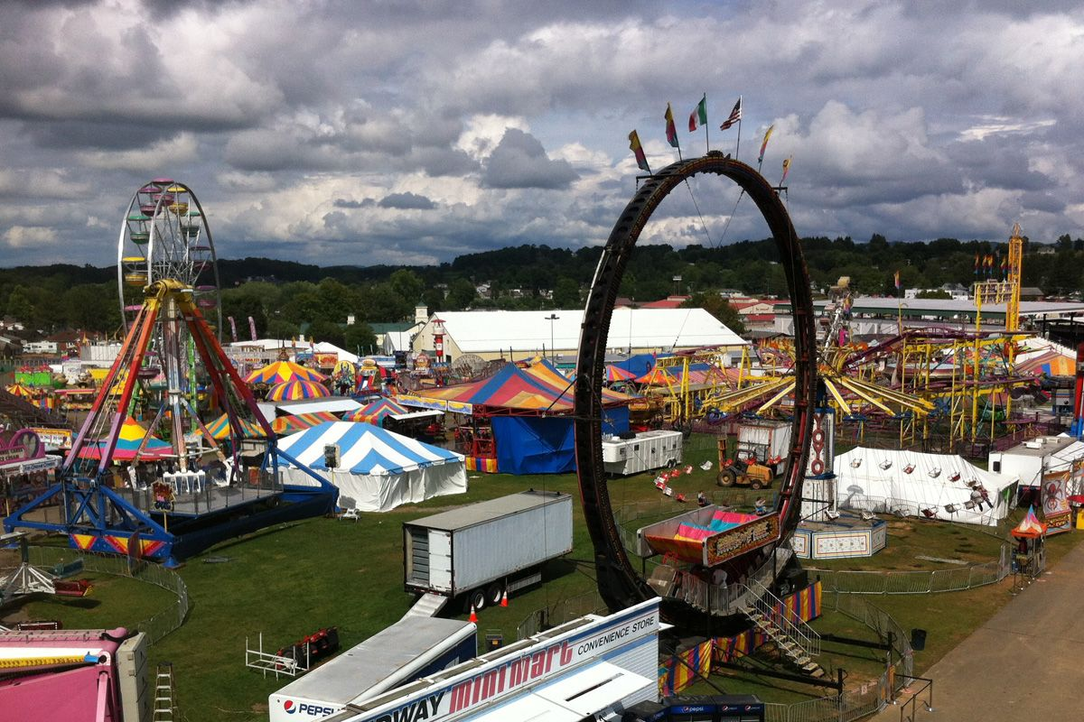 Virginia State Fair >> State Fair Of West Virginia