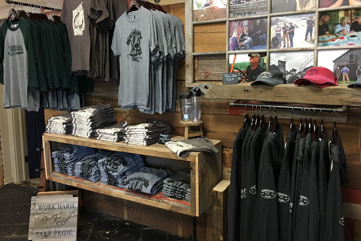 barnwood builders t-shirts for sale