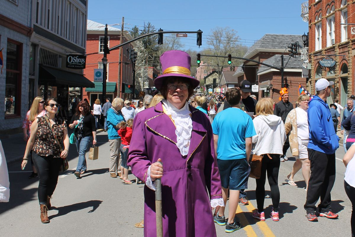 Lewisburg Chocolate Festival - Willy Wonka