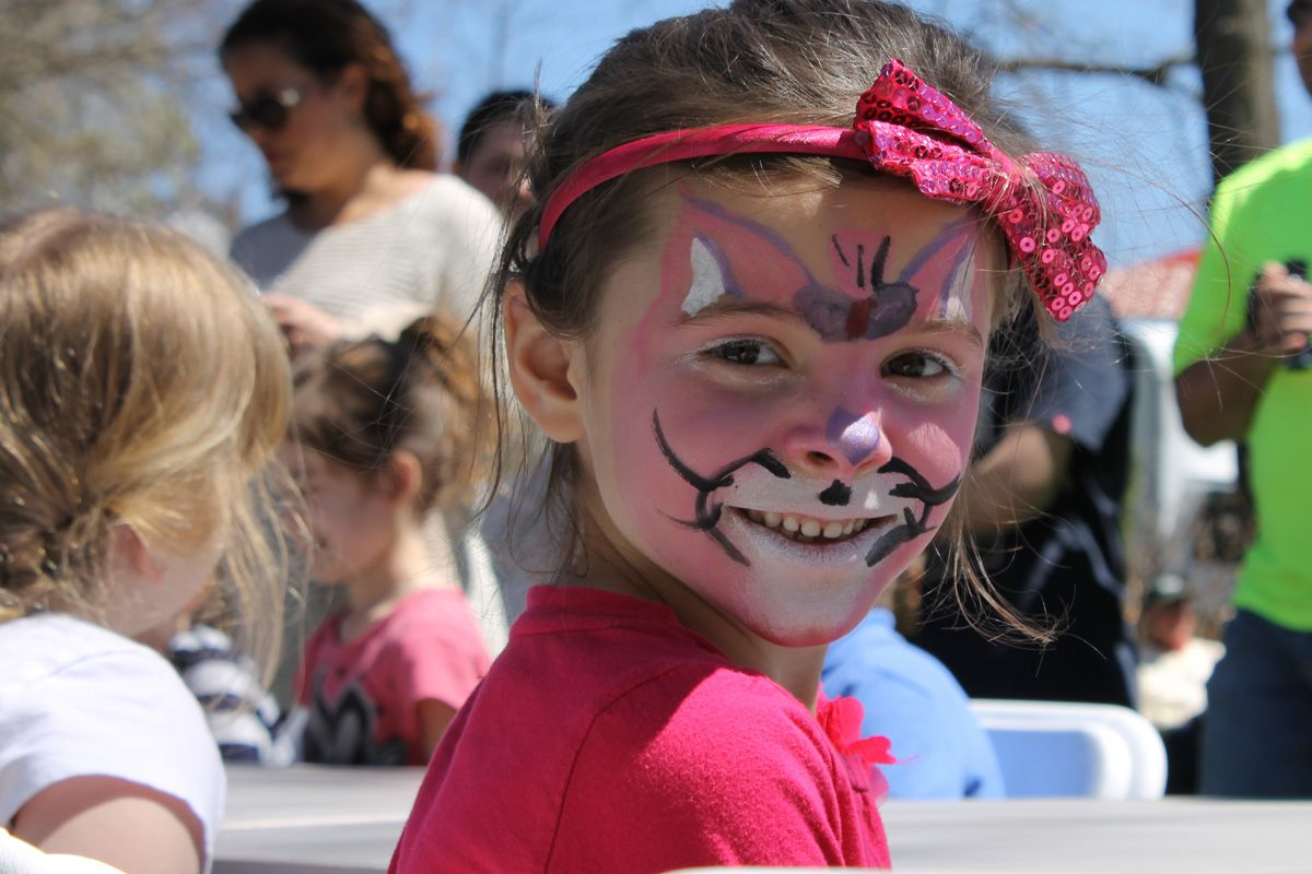Lewisburg Chocolate Festival - face painting