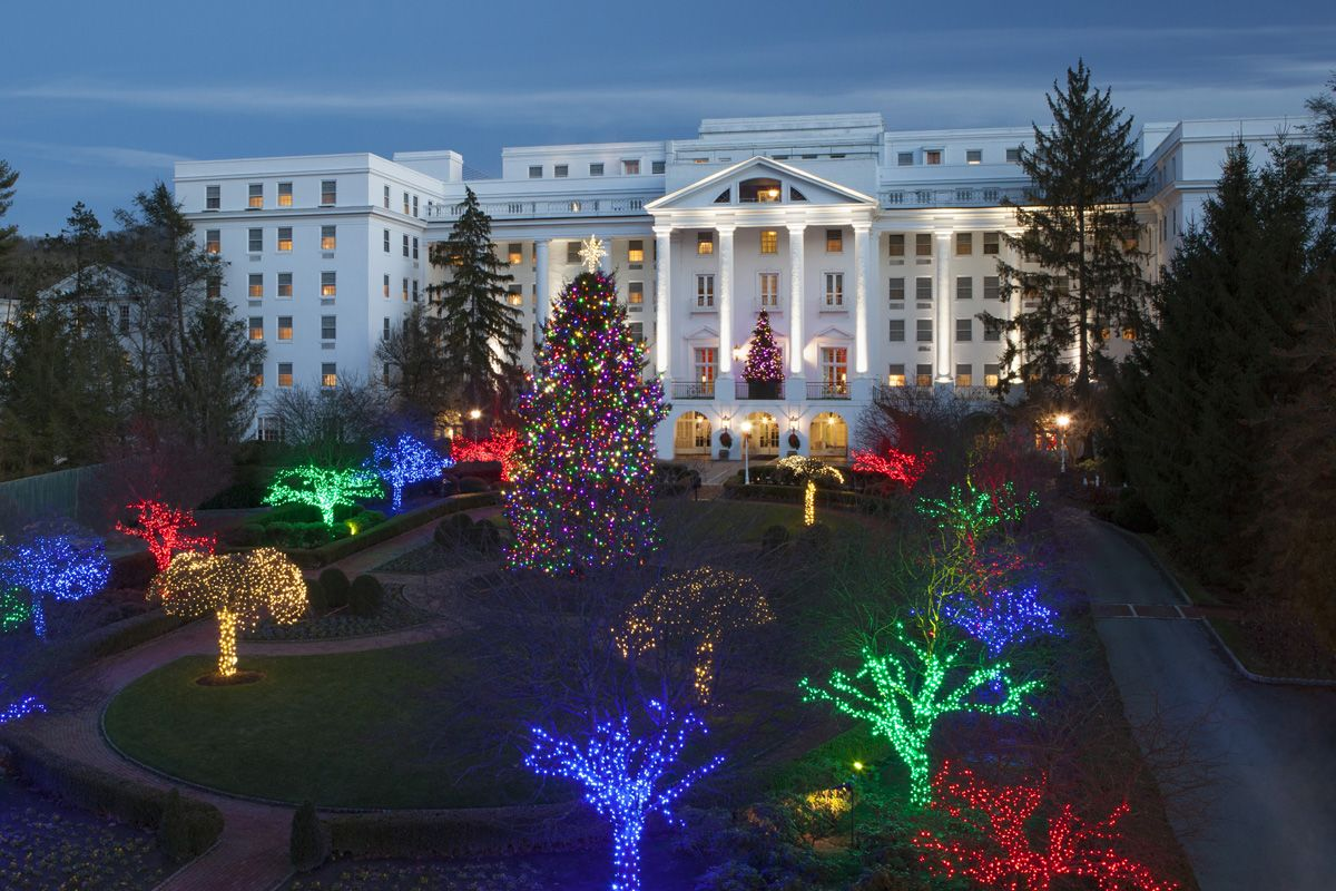 the greenbrier 60 days of holiday cheer