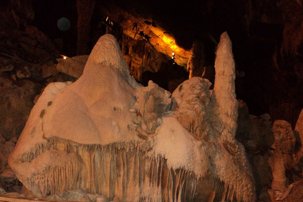 explore lost world caverns in lewisburg wv