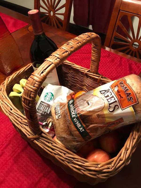 image the manse gift basket