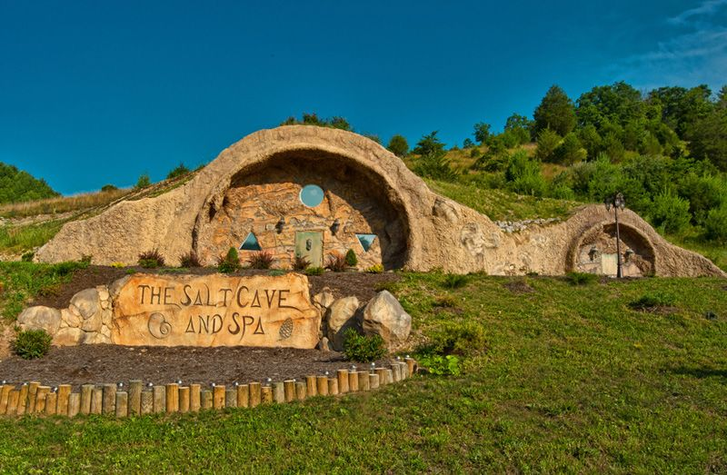 the salt cave and spa white sulphur springs wv