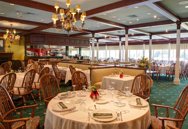 sam sneads dining at the greenbrier resort