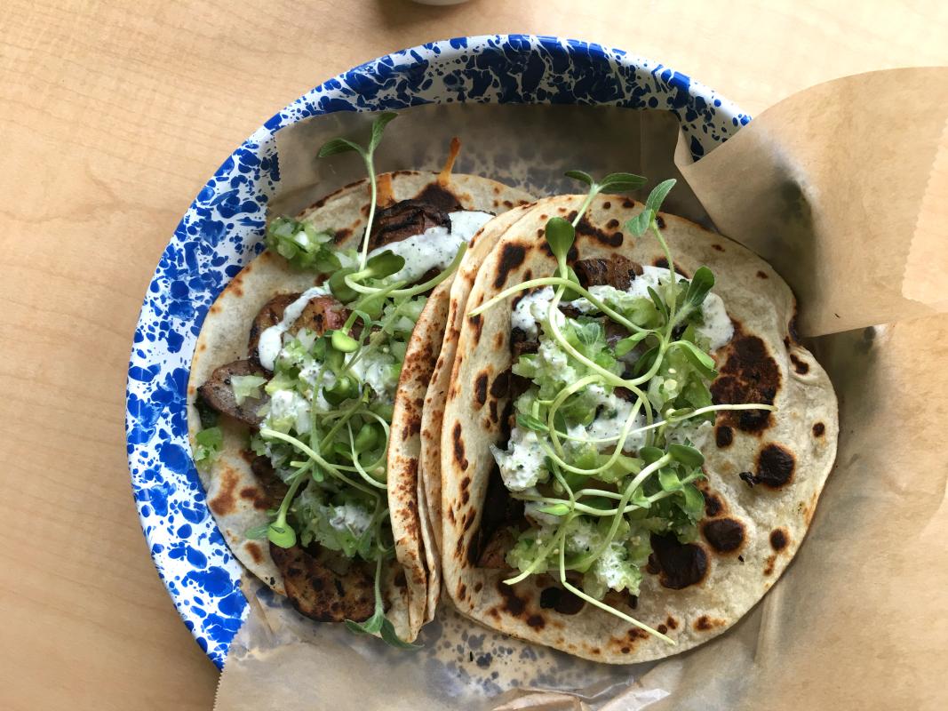 thunderbird taco locally sources beef tacos