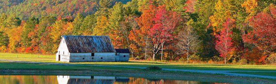 Fall Scene in the Greenbrier Valley