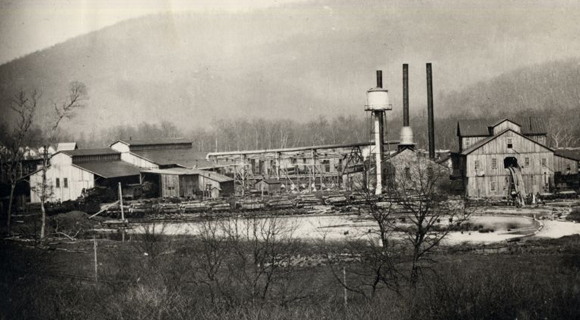 Town of Rainelle Timber Mill 580x320