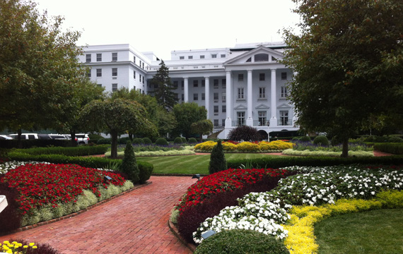 image the greenbrier entrance