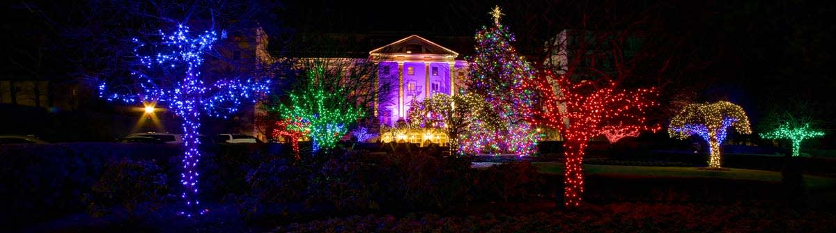 image the greenbrier holiday lights