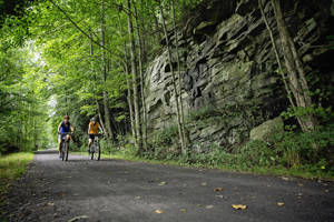 Greenbrier River Trail - Biking