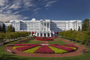 The Greenbrier Front Entrance