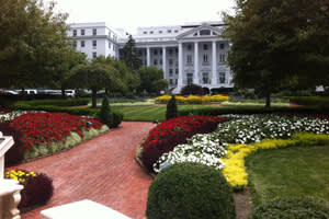 The Greenbrier North Entrance