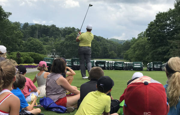 the greenbrier classic fans