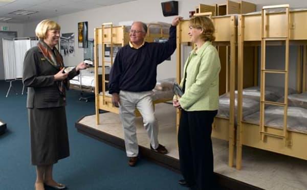 the greenbrier resort bunker tour inside bunk room