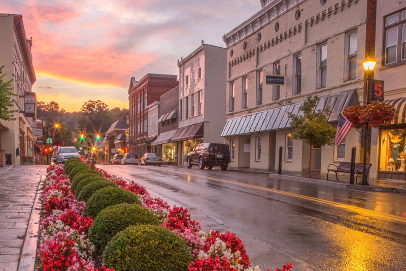 Downtown Lewisburg Lewisburg Wv Hotels Greenbrier Valley