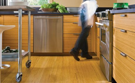 Engineered Non Toxic Durable Affordable Bamboo Flooring