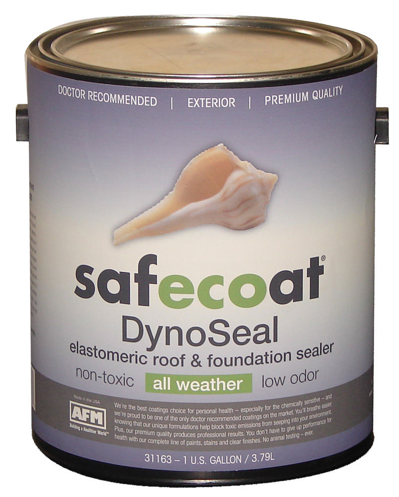 AFM SafeCoat DynoSeal NonToxic All Weather Elastomeric Roof