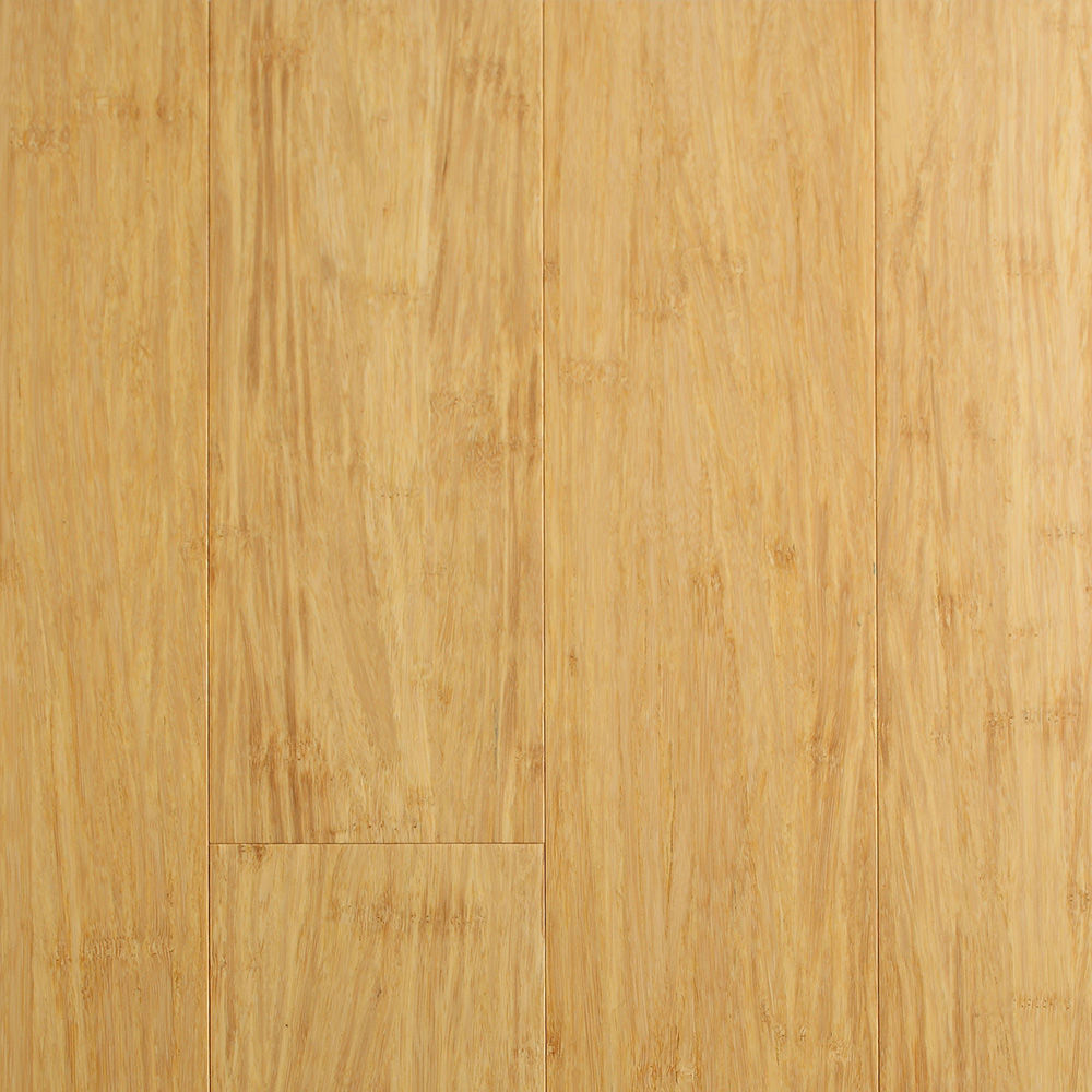 Ecofusion solid drop lock bamboo flooring natural for Sustainable bamboo flooring