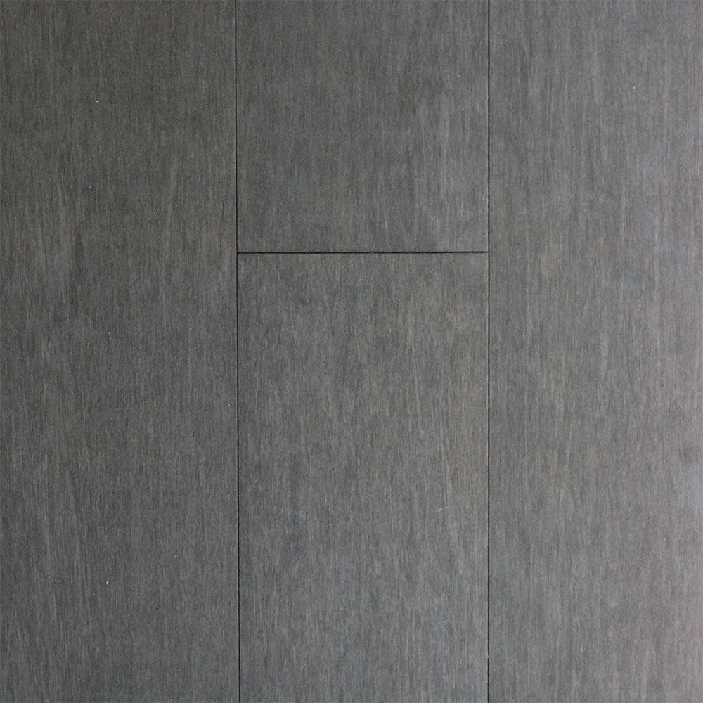 Ecofusion Solid Drop Amp Lock Bamboo Flooring Mineral Gray