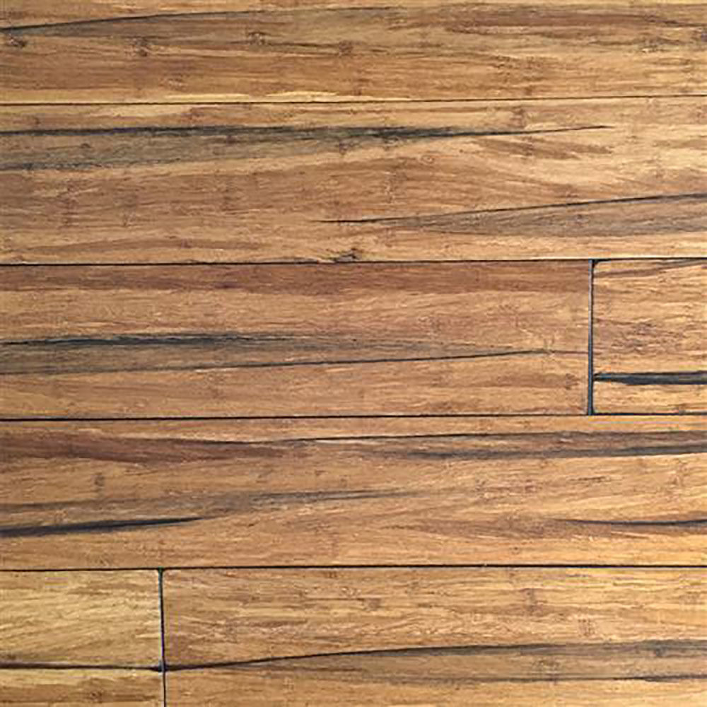 Ecofusion wide plank solid bamboo flooring peppercorn for Bamboo hardwood flooring