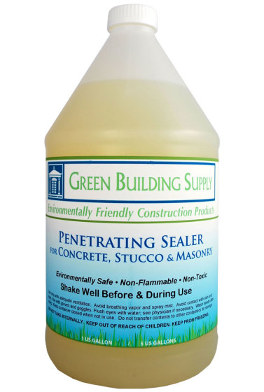 green building supply penetrating concrete sealer non toxic eco
