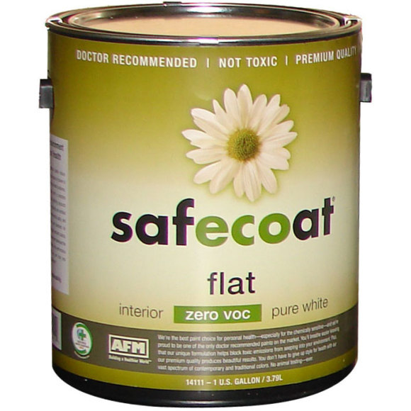 AFM SafeCoat Zero VOC Paint Zero VOC Non Toxic Paint Green