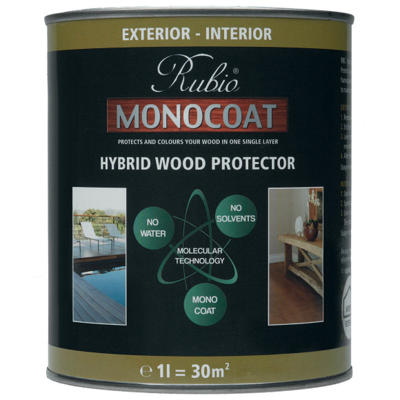 Rubio Monocoat Hybrid Exterior Wood Protector - Non-Toxic