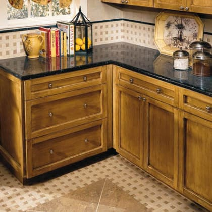 Crossville Porcelain Tile Countertops Example