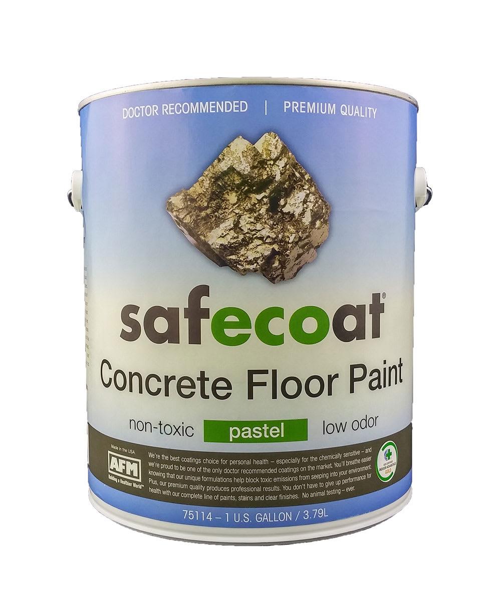 Afm Safecoat Deckote Concrete Floor Paint Low Odor