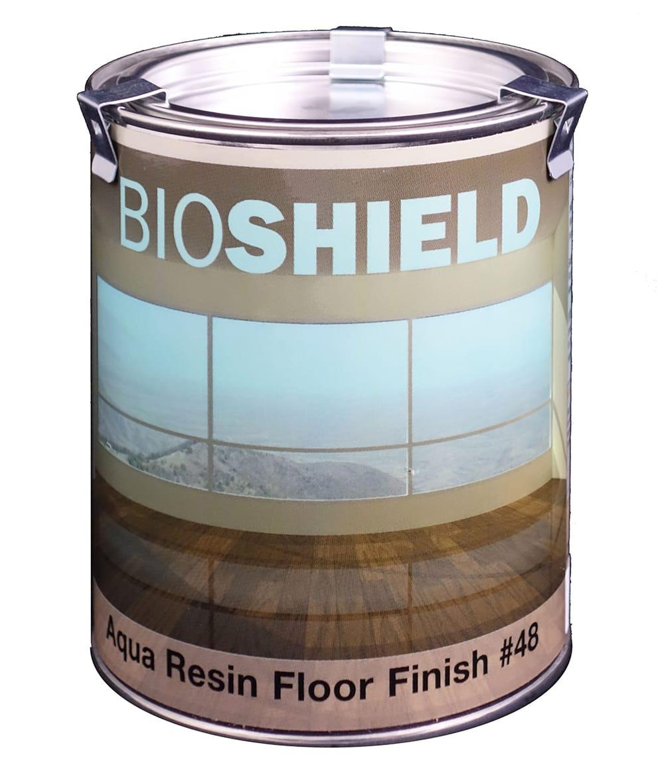 Bioshield Aqua Resin Floor Finish Clear Non Toxic