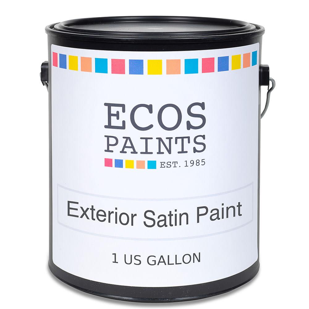 Ecos Exterior Satin Wall Paint Eco Friendly Zero Voc Allergy Safe Paint