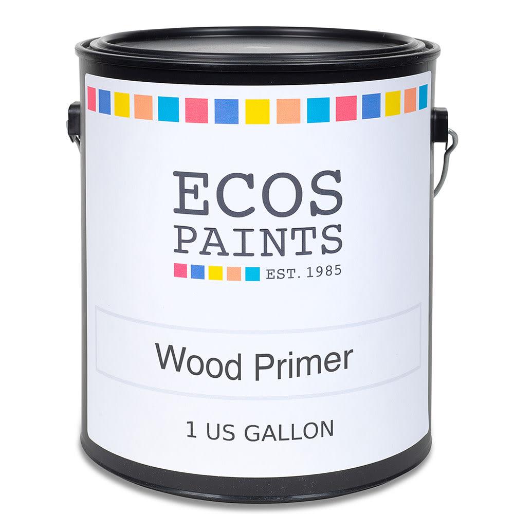 Ecos Interior Exterior Wood Primer Eco Friendly Zero Voc Allergy Safe Wood Primer