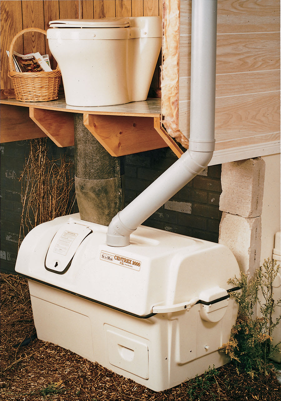 Sun Mar Composting Toilet Central Dry System Odor Free