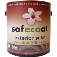 AFM SafeCoat, All Purpose Exterior Satin, Custom Color Paint