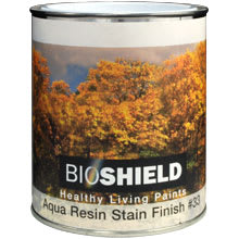 Bioshield, Aqua Resin Stain Finish
