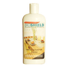 Bioshield, Wood Counter Finish, 8-Ounce (0.24-Liter)