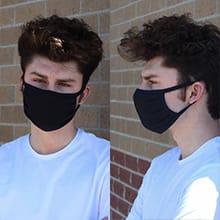 Face Mask Black - 10 pack
