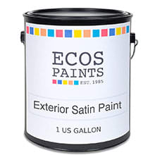 ECOS Exterior Satin Wall Paint