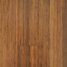 EcoFusion Engineered Drop and Lock Strand Sustainable Bamboo Flooring, Rye