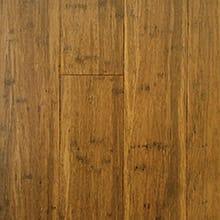 EcoFusion Engineered Strand Sustainable Bamboo Flooring, Carbonized