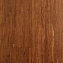 EcoFusion Solid Drop and Lock Strand Sustainable Bamboo Flooring, Carbonized
