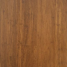 EcoFusion Solid Strand Sustainable Bamboo Flooring, Carbonized, 12mm