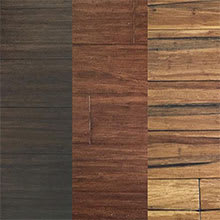 Sustainable Bamboo Flooring from EcoFusion Wide Plank Solid Strand Bamboo