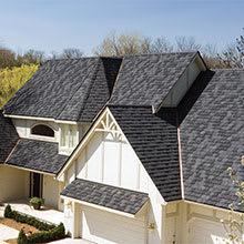 EcoStar, Seneca Cedar Shake, Hip & Ridge Tiles